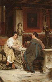 The Discourse, undated by Alma-Tadema | Painting Reproduction