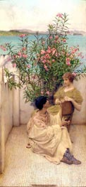 Courtship | Alma-Tadema | Painting Reproduction