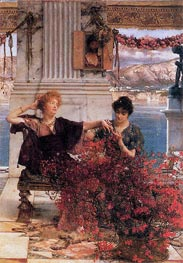 Love's Jewelled Fetter, 1895 by Alma-Tadema | Painting Reproduction