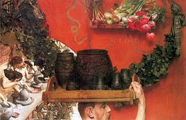 The Roman Potters in Britain, 1884 von Alma-Tadema | Gemälde-Reproduktion