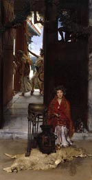 The Way to the Temple, 1882 by Alma-Tadema | Painting Reproduction