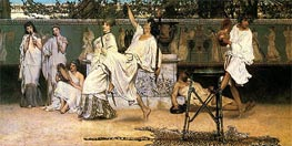 A Private Celebration (Bacchanale), 1871 by Alma-Tadema | Painting Reproduction