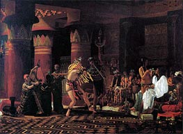 Pastimes in Ancient Egypt 3000 Years Ago, 1863 by Alma-Tadema | Painting Reproduction