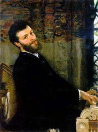 Portrait of the Singer George Henschel | Alma-Tadema | Painting Reproduction