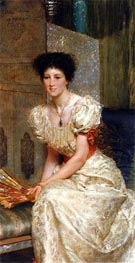 Portrait Of Mrs Charles Wyllie | Alma-Tadema | Painting Reproduction