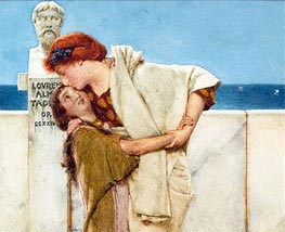 Motherly Love | Alma-Tadema | Painting Reproduction