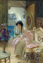 Watching and Waiting | Alma-Tadema | Painting Reproduction
