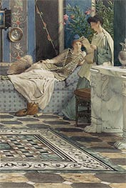 From an Absent One | Alma-Tadema | Painting Reproduction
