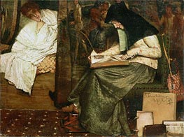 The Nurse | Alma-Tadema | Painting Reproduction