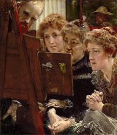 A Family Group, 1896 by Alma-Tadema | Painting Reproduction