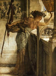 A Bacchante, 1875 by Alma-Tadema | Painting Reproduction