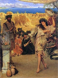 A Harvest Festival, 1880 by Alma-Tadema | Painting Reproduction