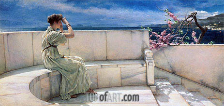 Expectations, 1885 | Alma-Tadema | Painting Reproduction
