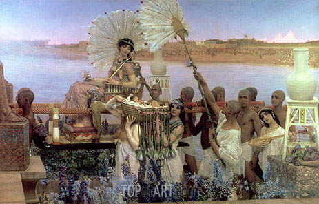 The Finding of Moses, 1904 | Alma-Tadema | Painting Reproduction
