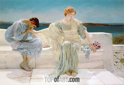 Ask me no More, 1906 | Alma-Tadema | Painting Reproduction