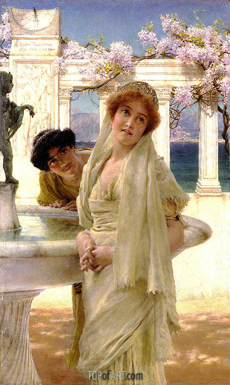 A Difference of Opinion, 1896 | Alma-Tadema | Painting Reproduction