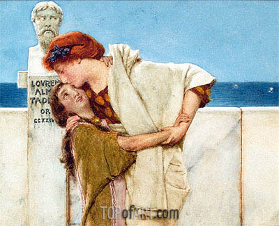 Motherly Love, Undated | Alma-Tadema | Painting Reproduction
