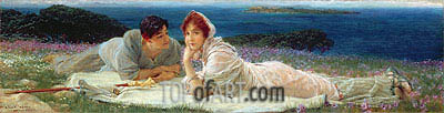 A World of Their Own, 1905 | Alma-Tadema | Painting Reproduction