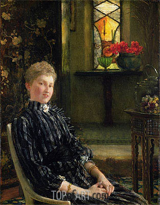 Portrait of Mrs Ralph Sneyd, 1889 | Alma-Tadema | Painting Reproduction
