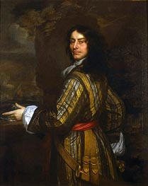 Flagmen of Lowestoft: Admiral Sir John Harman | Peter Lely | Gemälde Reproduktion