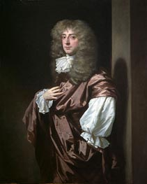 Portrait of Sir Thomas Thynne, later 1st Viscount Weymouth | Peter Lely | Gemälde Reproduktion