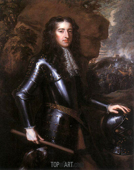 King William III, 1677 | Peter Lely | Painting Reproduction