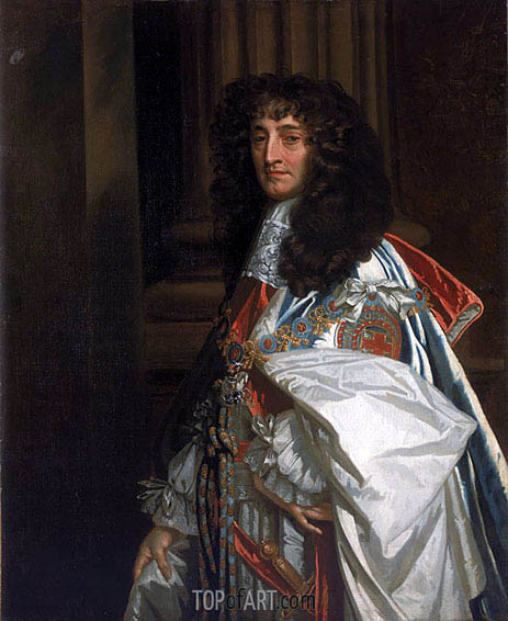 Prince Rupert, 1st Duke of Cumberland and Count Palatine of the Rhine, 1665 | Peter Lely | Gemälde Reproduktion