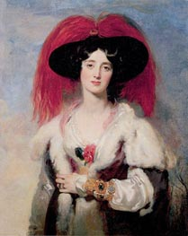 Lady Peel, 1827 von Thomas Lawrence | Gemälde-Reproduktion