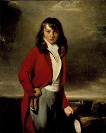 Portrait of Arthur Atherley as an Etonian, c.1791 von Thomas Lawrence | Gemälde-Reproduktion