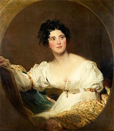 Mrs Littleton, 1822 by Thomas Lawrence | Painting Reproduction