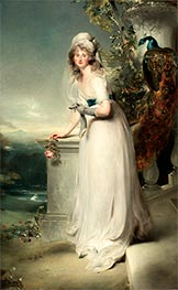 Portrait of Catherine Grey, Lady Manners | Thomas Lawrence | Painting Reproduction