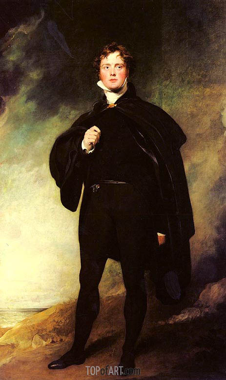 Portrait Of George Nugent Grenville, Lord Nugent, 1813 | Thomas Lawrence | Painting Reproduction