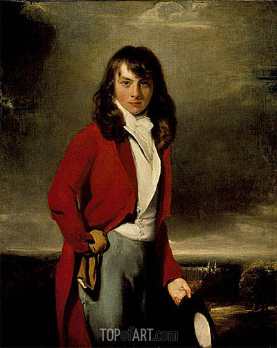 Portrait of Arthur Atherley as an Etonian, c.1791 | Thomas Lawrence | Painting Reproduction
