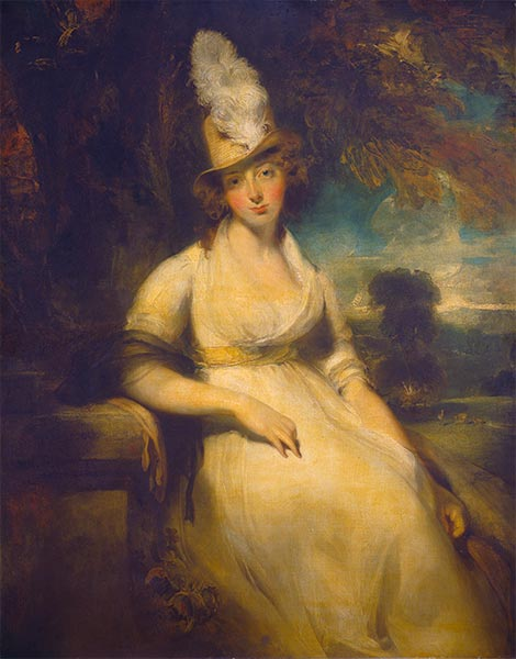 Mrs. Robert Blencowe, c.1792 | Thomas Lawrence | Gemälde Reproduktion