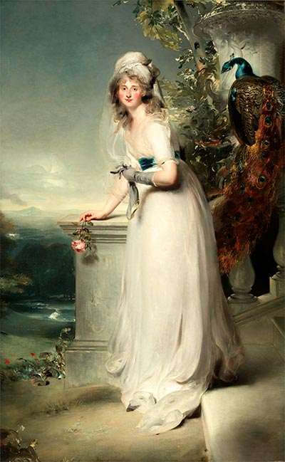 Portrait of Catherine Grey, Lady Manners, 1794 | Thomas Lawrence | Painting Reproduction