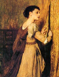 Jessica, undated by Quiller Orchardson | Painting Reproduction