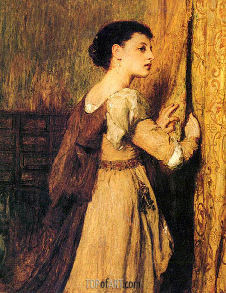 Jessica, undated | Quiller Orchardson | Painting Reproduction