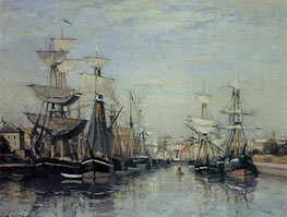 The Saint Pierre Basin | Lepine | Painting Reproduction