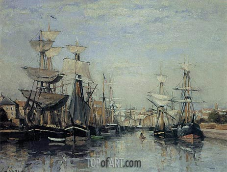 The Saint Pierre Basin, c.1863/68 | Lepine | Painting Reproduction