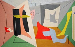 Egg Beater 3, 1927 by Stuart Davis | Painting Reproduction