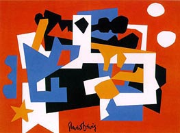 Colonial Cubism | Stuart Davis | Painting Reproduction