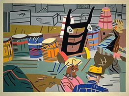 The Terminal | Stuart Davis | Painting Reproduction
