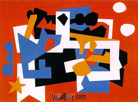 Colonial Cubism, 1954 | Stuart Davis | Painting Reproduction