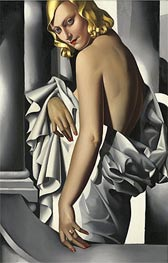 Portrait of Marjorie Ferry, 1932 by Lempicka | Painting Reproduction