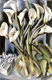 Arums, c.1931 by Lempicka | Painting Reproduction