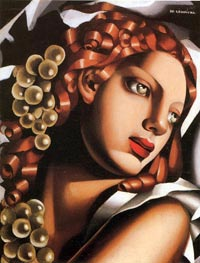 The Brilliance, c.1932 by Lempicka | Painting Reproduction