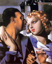 Idyll, 1931 by Lempicka | Painting Reproduction