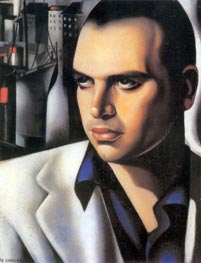 Portrait of Count Vettor Marcello, c.1933 by Lempicka | Painting Reproduction