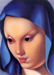 Madonina, c.1934 by Lempicka | Painting Reproduction