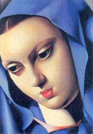 The Blue Virgin | Lempicka | Painting Reproduction